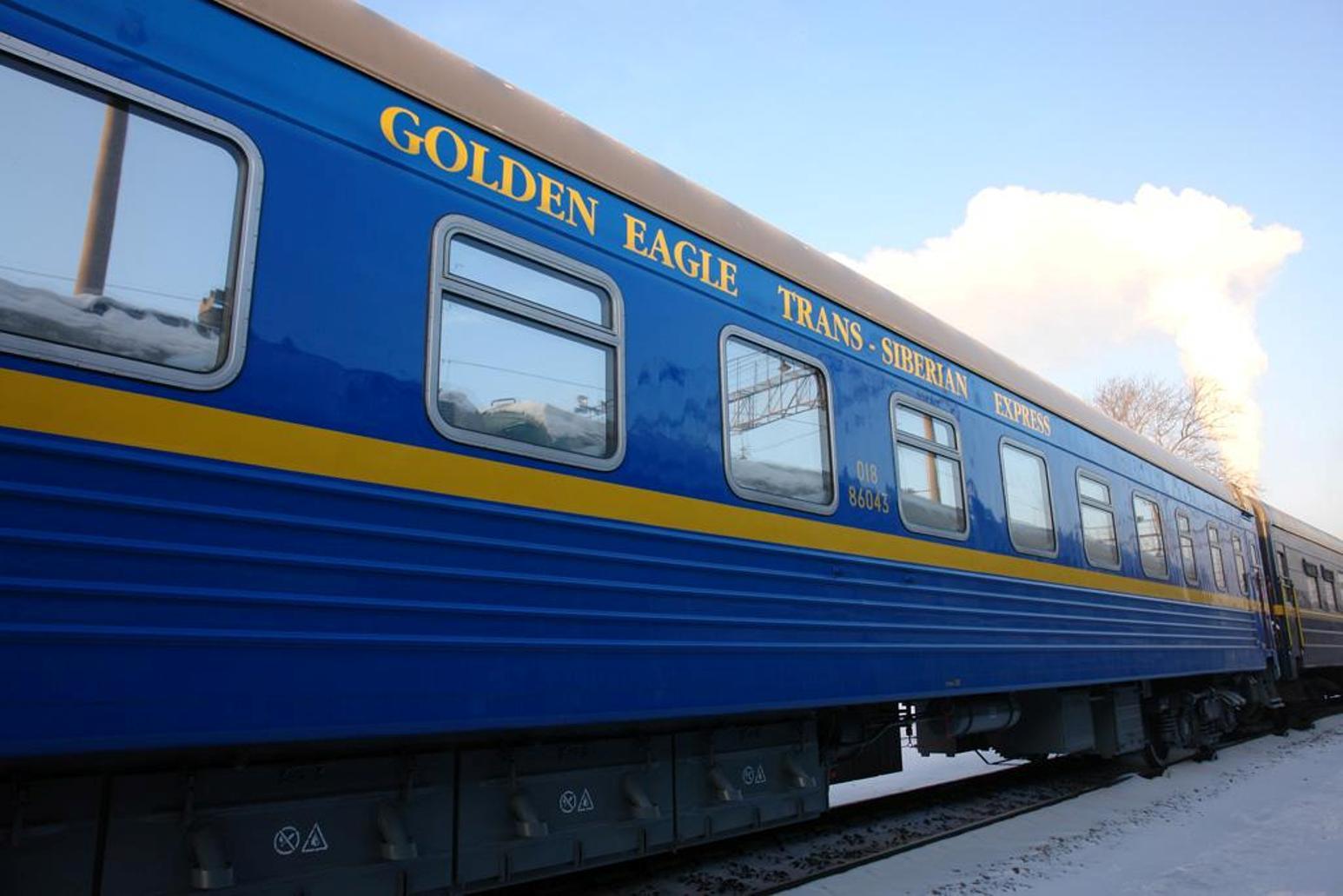 Golden Eagle Trans Siberian Express Exterior