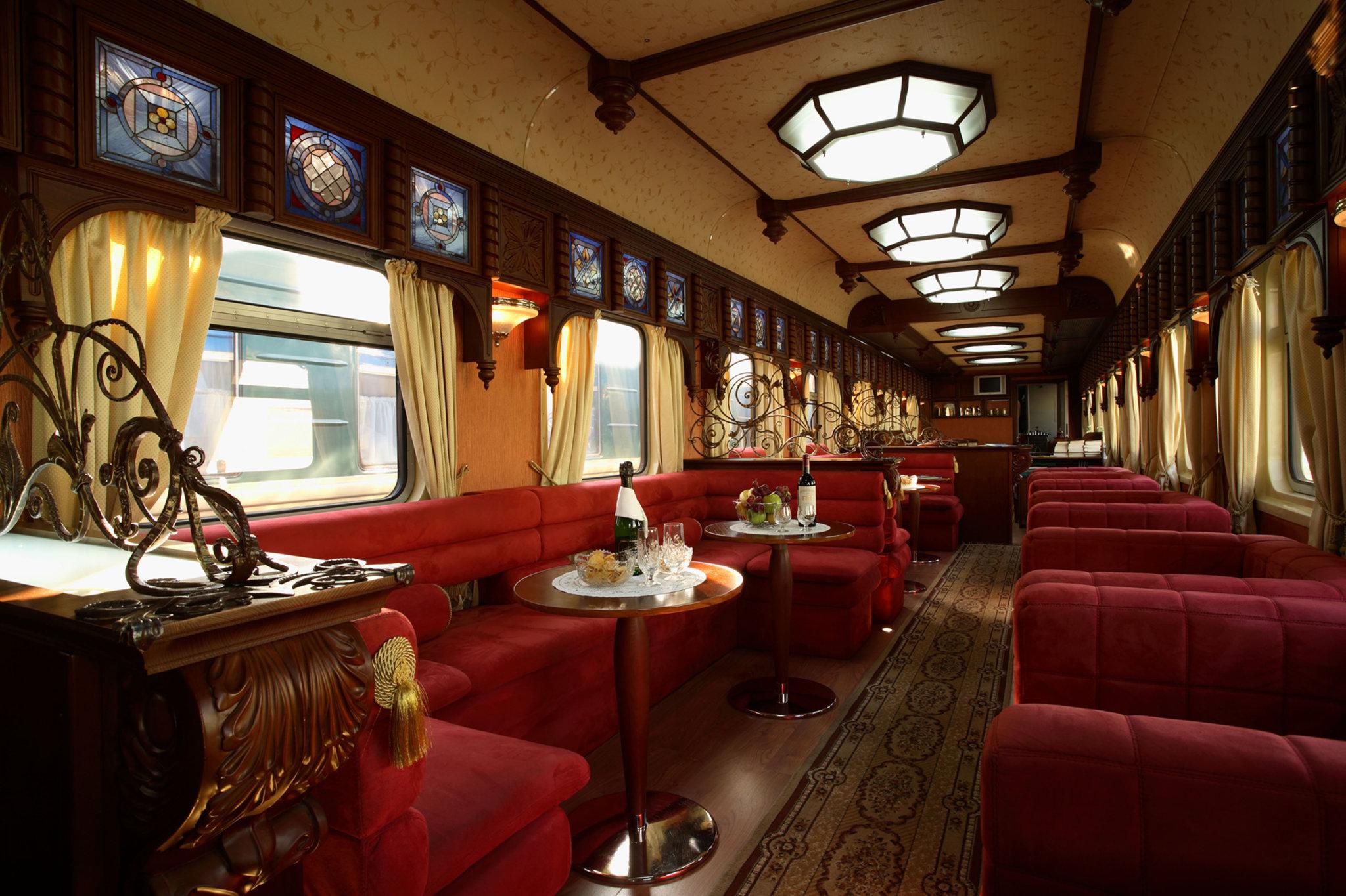 Golden Eagle interior Train