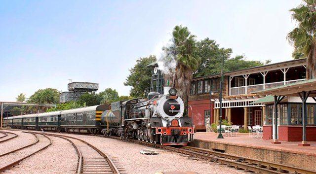 Rovos Rail Train Holiday Capital Park Station