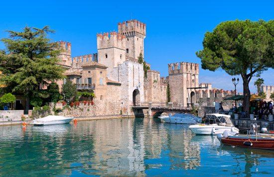 Castle Sirmione - Lake Garda