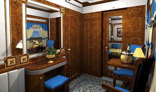 Golden Eagle Interior