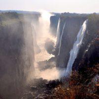 Victoria Falls by train