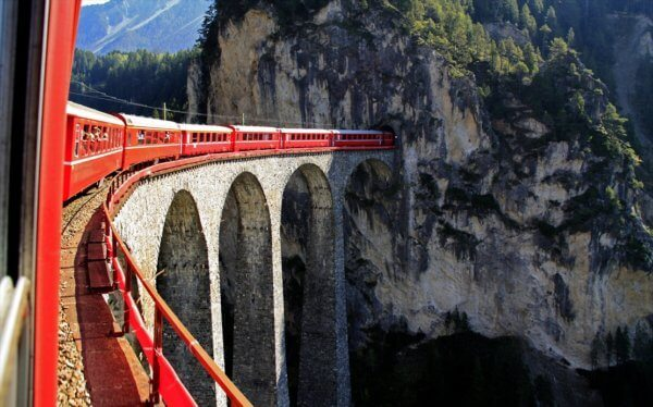 glacier-express escorted tour