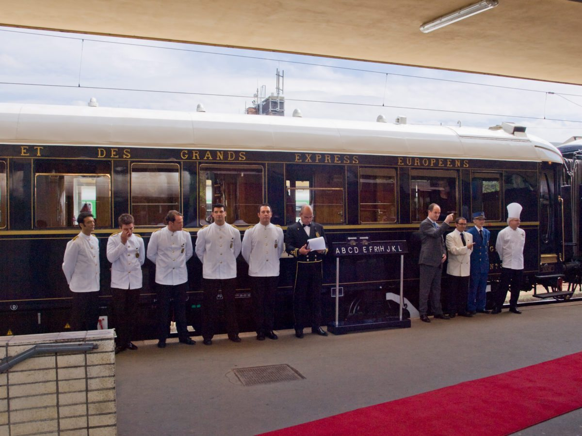 Orient Express Welcome